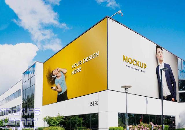 outdoor advertising billboard mockups