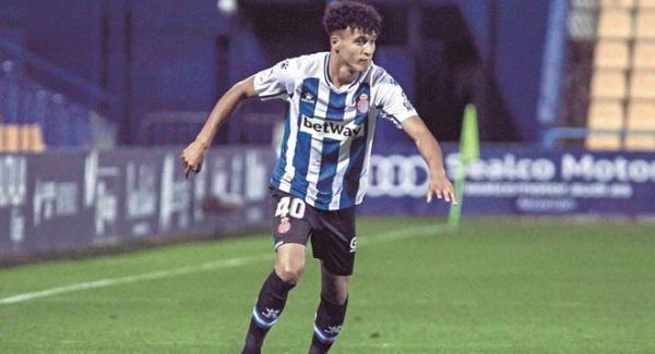 """الموهبة المغربية """"عمر الهيلالي"""" في طريقه لتمثيل المنتخب الإسباني"""