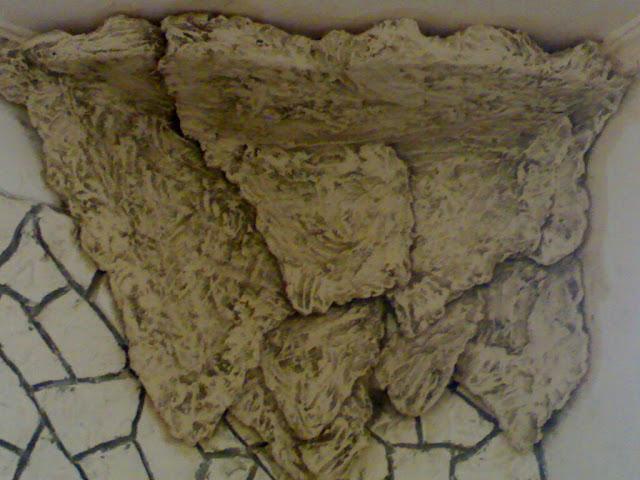 Gypse pierre décorations