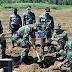 Dandim 0824/Jember Pimpin Penghijauan Pembinaan Lingkungan Hidup Di RPH Garahan