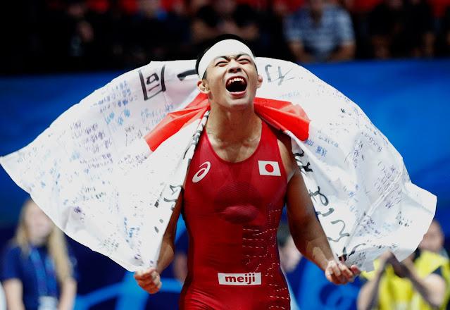 O que acontece no wrestling Jogos Olímpicos de Tóquio