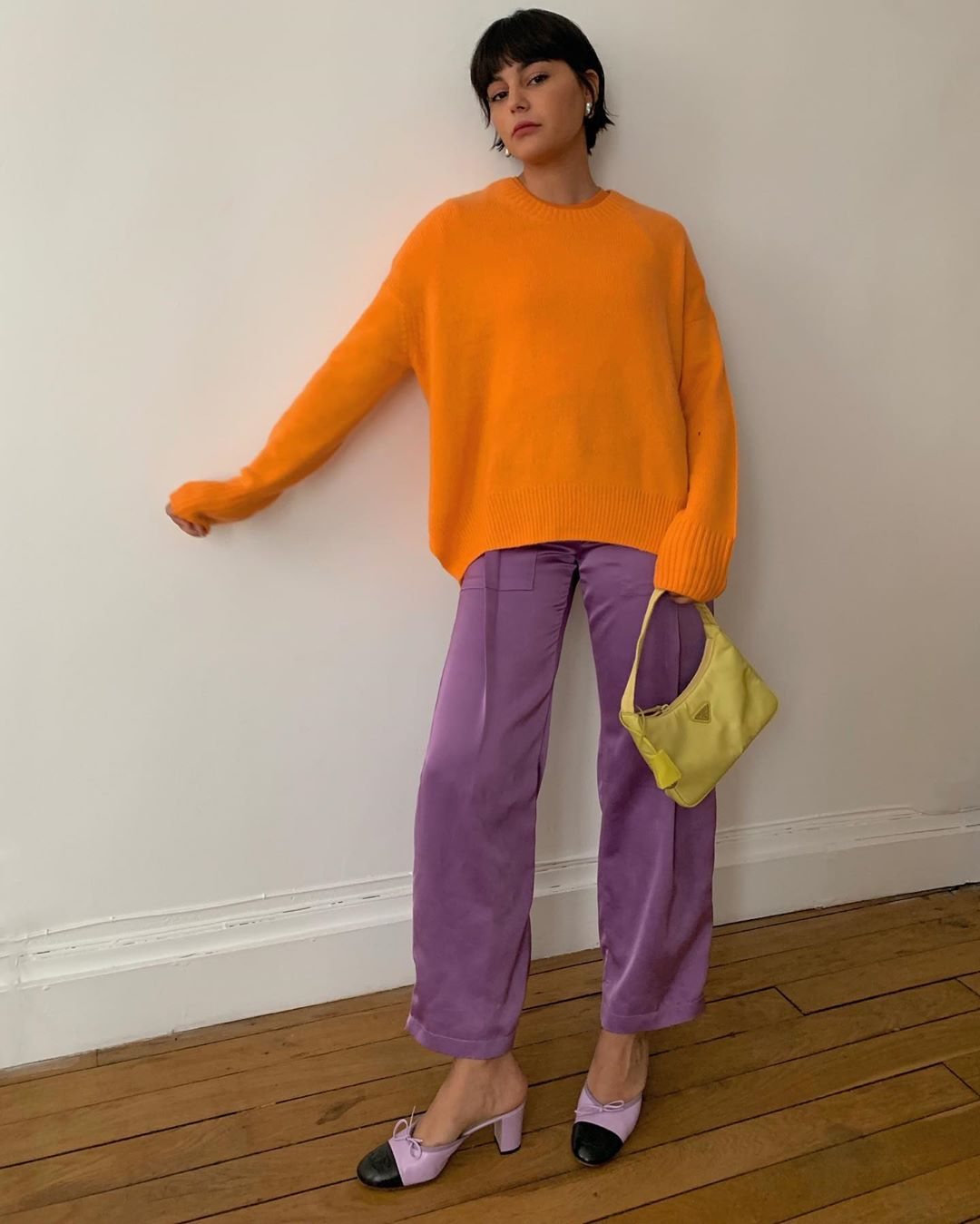 Maria Bernad Makes a Purple Statement