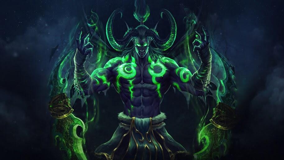 Illidan Stormrage, World of Warcraft, 4K, #3.2702