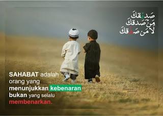 Luruskan Niat Dalam Bersahabat
