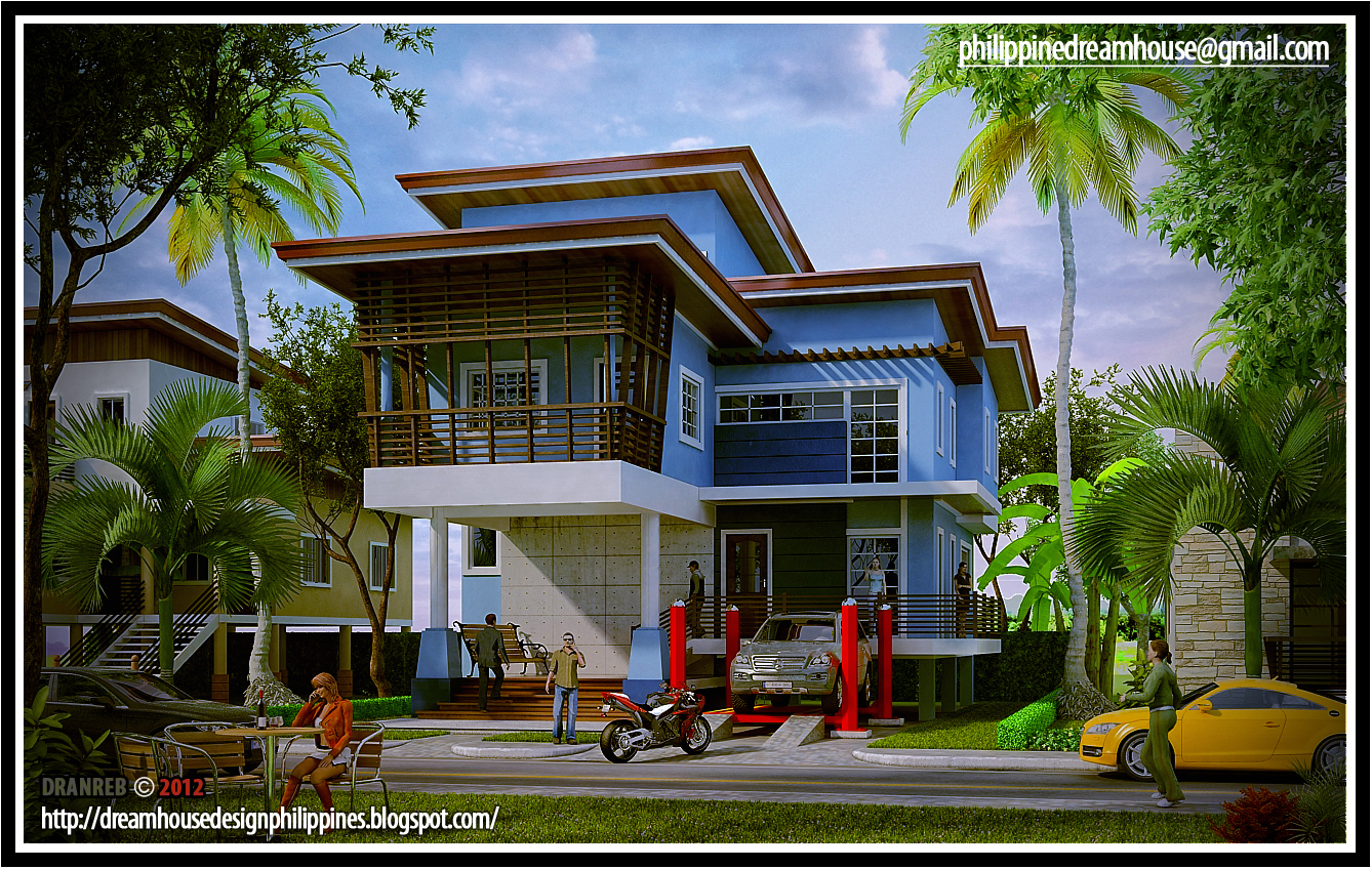 Philippine Dream House Design : Elevated House Design 2