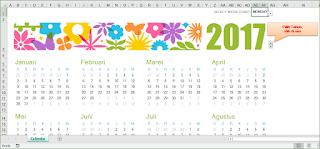 Membuat Kalender Tahunan Excel
