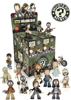 The Walking Dead Mystery Minis Blind Box Series 4 by Funko