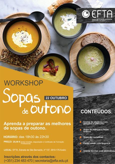 Workshop Sopas de Outono – Aveiro
