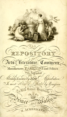 Front cover of Ackermann's Repository  Volume 5 (1811)
