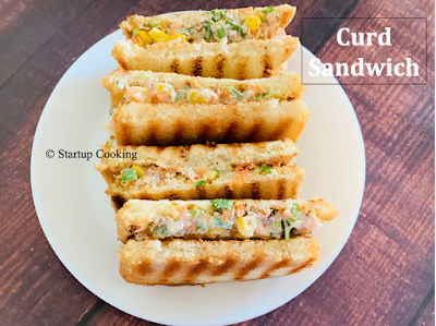 curd sandwich
