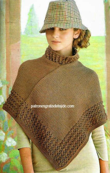 patrones-poncho-dos-agujas-y-crochet