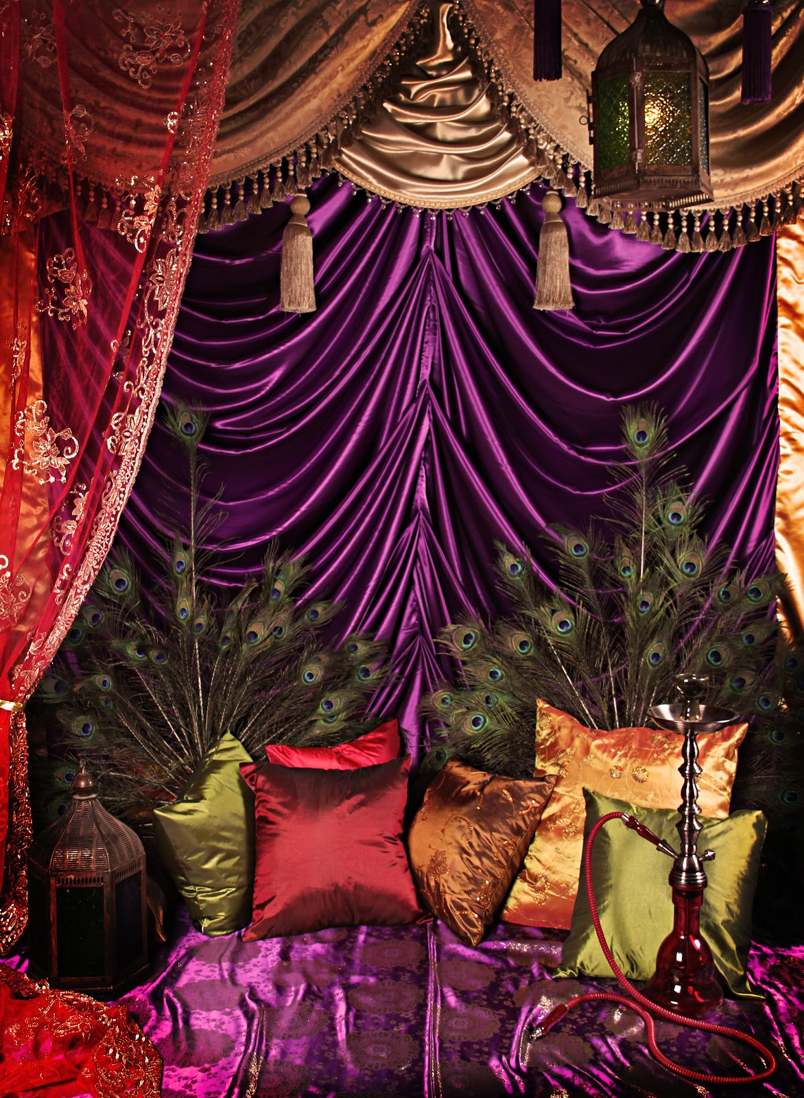 Colorfull Bohemian Style Apartment Of Cécile Figuette: Montreal Glamour Parties Blog: Arabian Nights At Glamour MTL