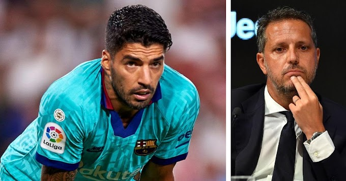 Juventus officially rule out Luis Suarez interest, He is not on our list: Juventus director Paratici