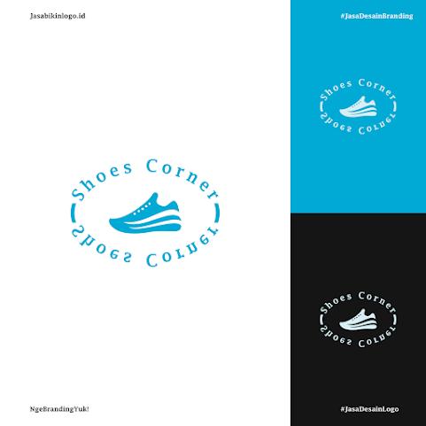 Jasa Desain Logo Cuci Sepatu Premium Murah Dan Gratis Revisi