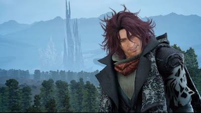 Screenshot of Ardyn from Final Fantasy XV.