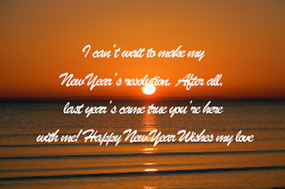 Romantic New Year Messages for Girlfriend