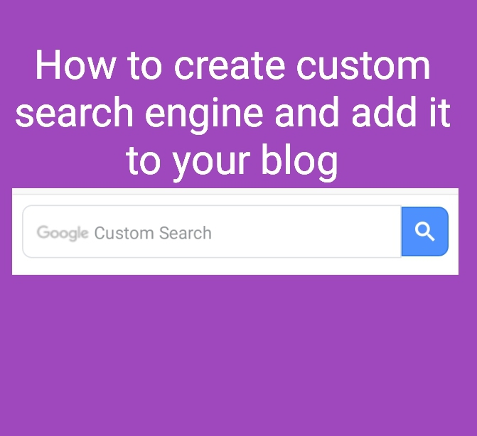 how to add google custom search engine with blog in blogger or wordpress