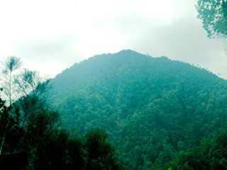 Gunung Djadi Yang Tersembunyi Kabupaten Kampar