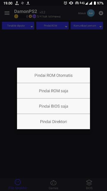 Pindai ISO ROM dan Bios Otomatis