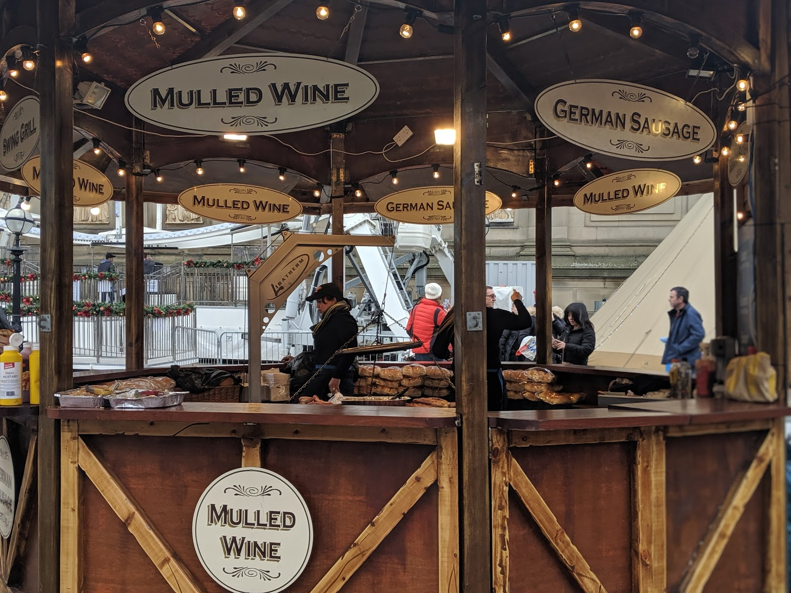 A Guide to Visiting Liverpool Christmas Markets & Lights  - mulled wine
