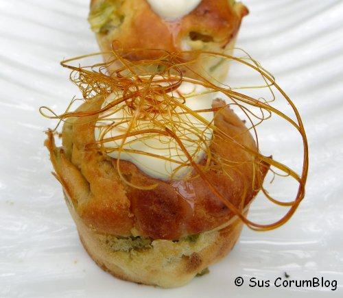 Rhabarber-Quark-Muffins