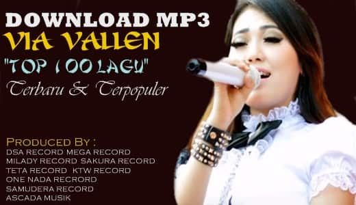Download 100 lagu Via Vallen mp3 terbaru terpopuler