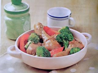 Gambar Resep Setup Ayam Brokoli