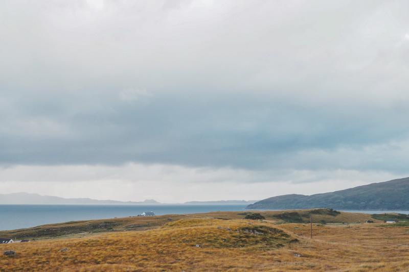 Promenade sur les hauteurs d'Applecross en Ecosse