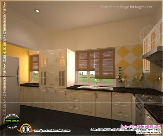 Interior Design For Kitchen In Kerala: Kitchen Designs By Aakriti Design Studio