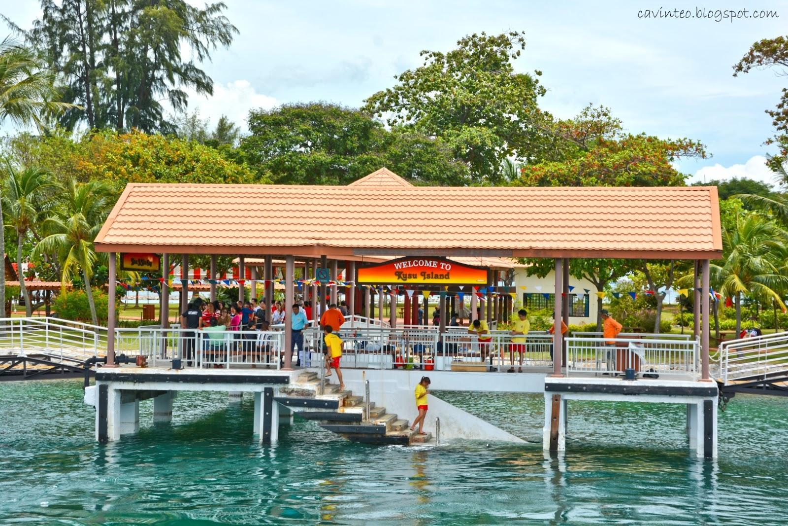 how to get to kusu island