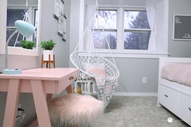 DIY Bedroom for girls