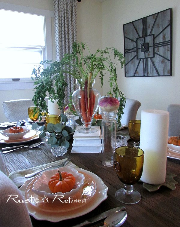Creative Tablescape Idea for Fall Entertaining