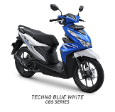 Honda Beat Techno Blue White