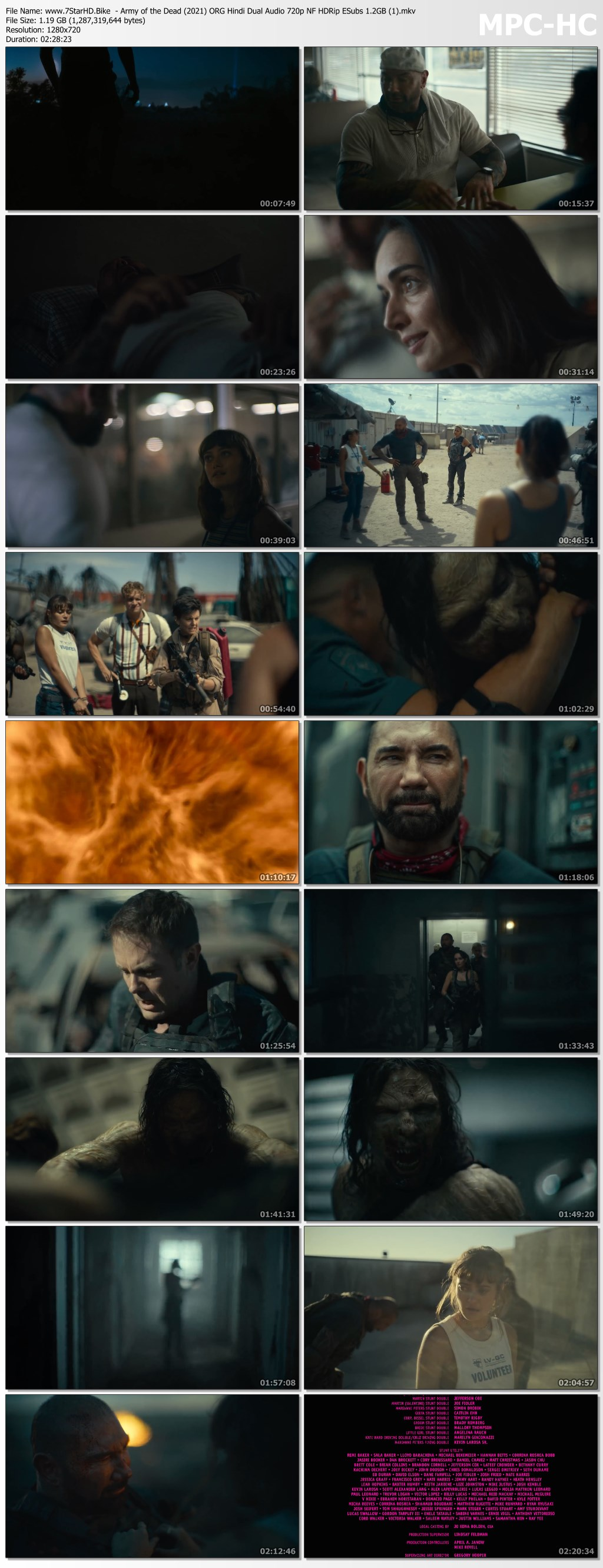 Army of the Dead (2021) ORG Hindi Dual Audio 720p NF HDRip ESubs 1.2GB Download