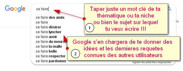 Choose a web article title for google