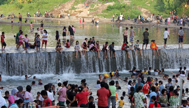 Tradisi Balimau Kasai di Kampar