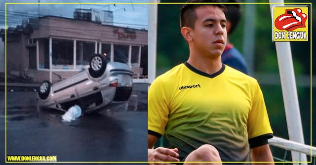 Jugador del Deportivo Táchira falleció en un accidente de tránsito