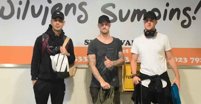 Tiga Pemain Baru Persib Sudah Mendarat di Bandung