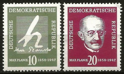 Germany (East) DDR GDR 1958  Birth Centenary Max Planc