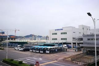 Pabrik smartphone Samsung di China telah di tutup