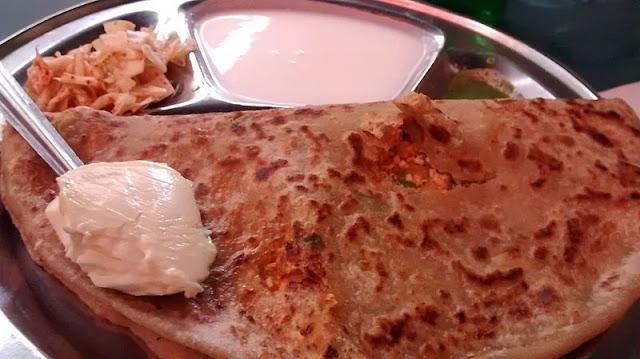 How to make palak paneer paratha
