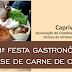Virmond - 13º Festa Gastronômica a Base de Carne de Cabrito.