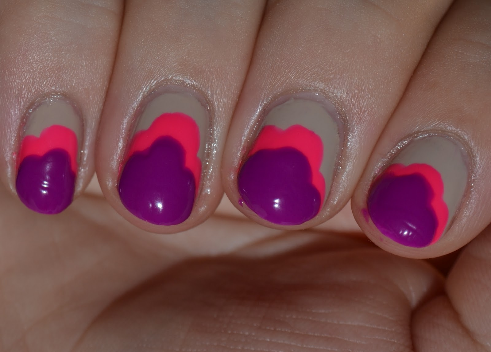 Nail designs for 2012!!! Loving the colors and even the ... |Odd Nail Shapes