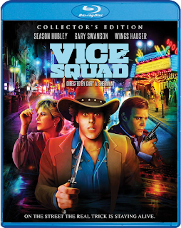 Cover art for Scream Factory's VICE SQUAD (COLLECTOR'S EDITION) Blu-ray!