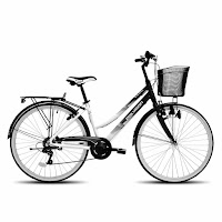 City Bike Polygon Sierra Lite Rangka Aloi 7 Speed 26 Inci
