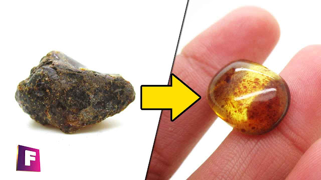 Como Pulir Minerales y Gemas de baja dureza de forma casera