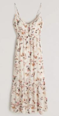 Abercrombie Tiered Midaxi Dress