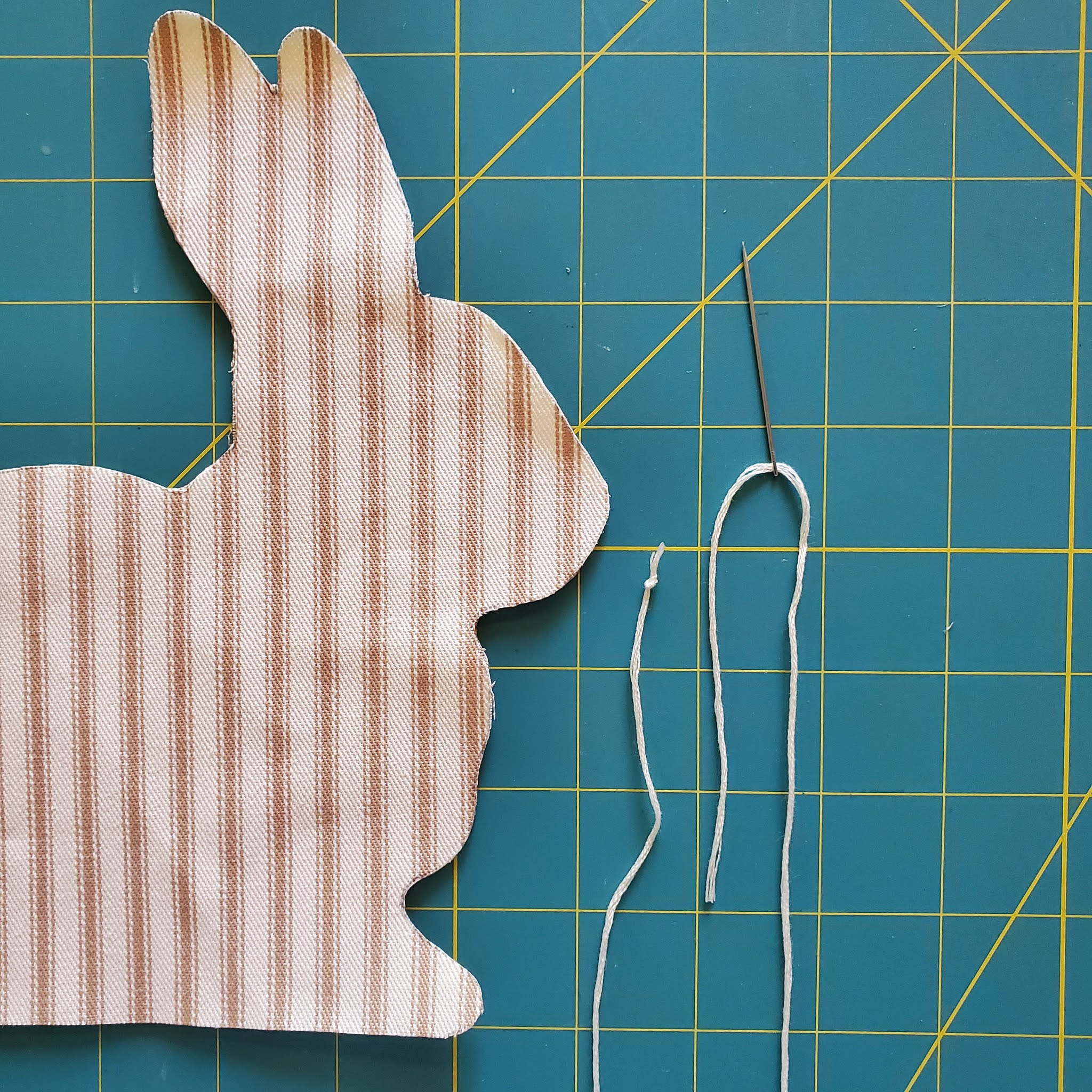 Free Printable Bunny Pattern