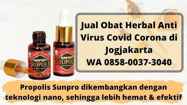 Jual Obat Herbal Anti Virus Covid Corona di Jogjakarta WA 0858-0037-3040