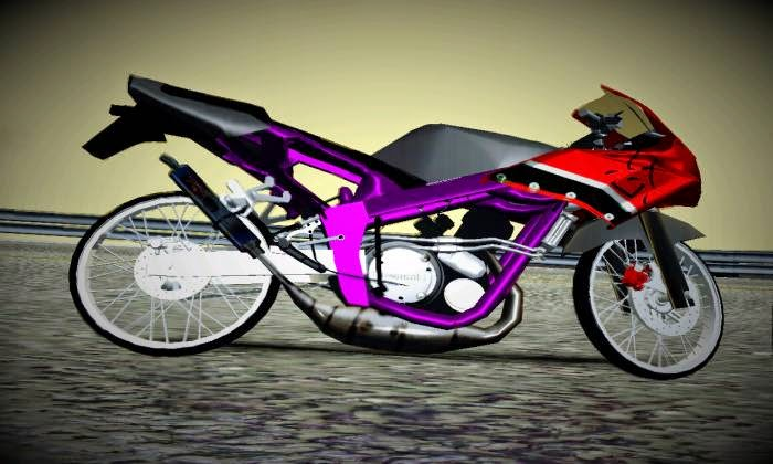 Ninja 150RR Drag Mod GTA San Andreas